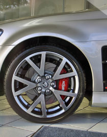 HSV VE Front Fenders Package fitted to vehicle