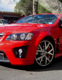 HSV VE GTS Front Conversion Kit Painted & Fitted in Red