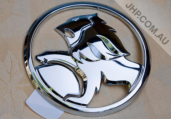 Red Lion Metal Grille Hold Sticker Vehicle Badge Emblem for Holden Gm Available