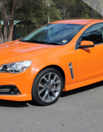 Holden VF SSV Wheel & Tyre Package Side View on Car