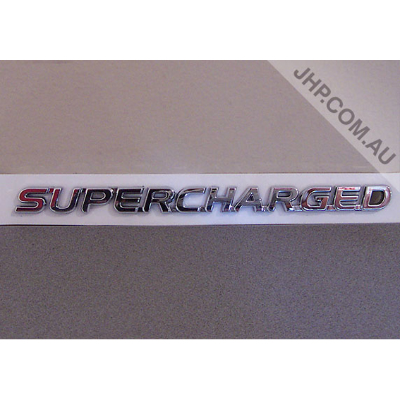Pontiac G8 Holden Supercharged Word Trunk Badge